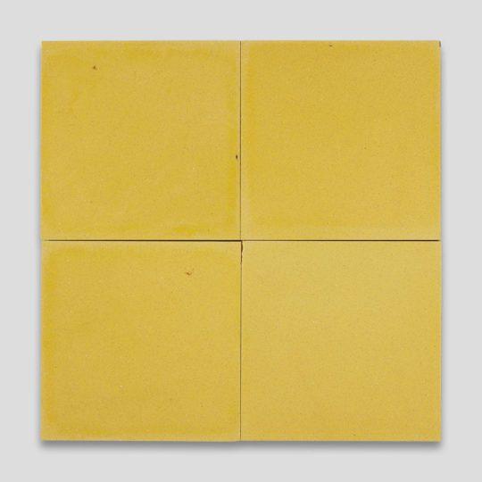 Amalfi Yellow Encaustic Cement Tile