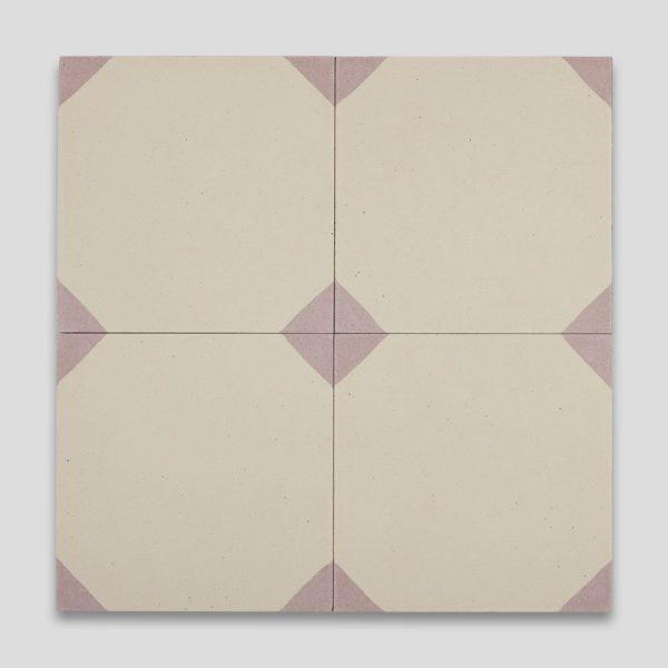 Anthropology Pink Encaustic Cement Tile