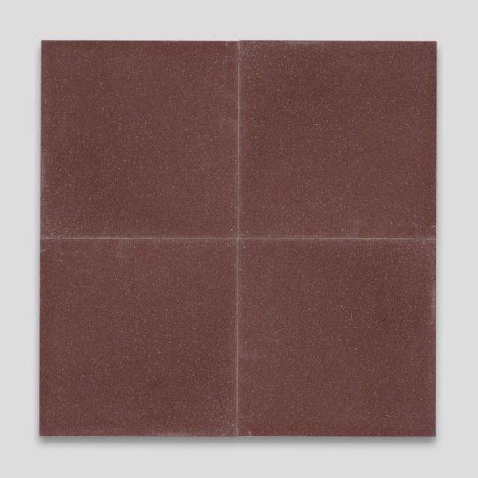 Aubergine Encaustic Cement Tile