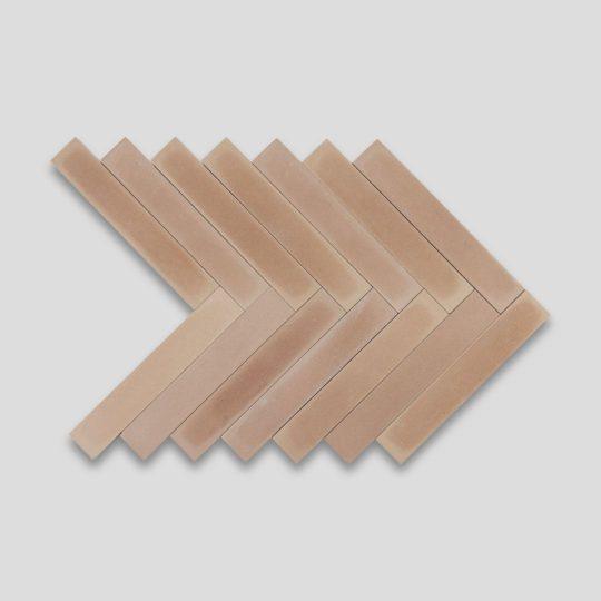 Birch Herringbone Encaustic Cement Tile