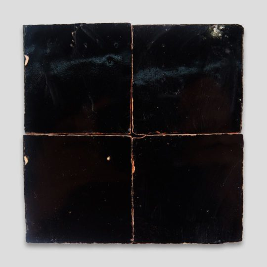 Black Zellige Tile