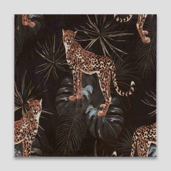 Cheetah Printed Ceramic Tile