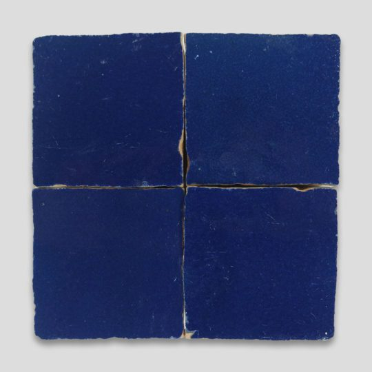 Dark Blue Z-12 Zellige Tile