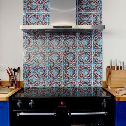 GC28 Handmade Turkish Ceramic Tile