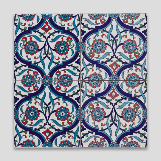 GC56 Handmade Turkish Ceramic Tile