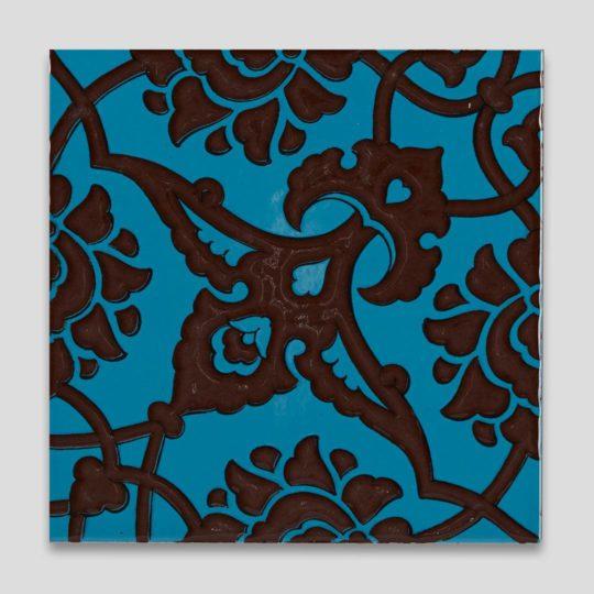GC83 Turkish Coffee Handmade Turkish Ceramic Tile