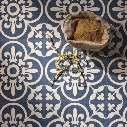 Istanblue Encaustic Cement Tile