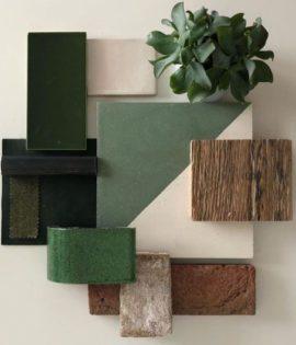 Magic Triangle Green 601 Encaustic Cement Tile