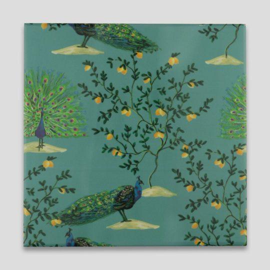 Peacock Printed Tile