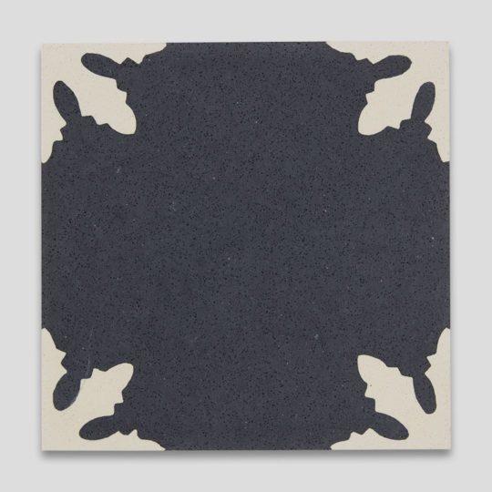 Snowflakes Encaustic Cement Tile