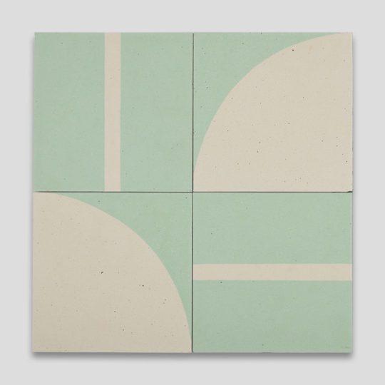Tiffany Geometry Encaustic Cement Tile