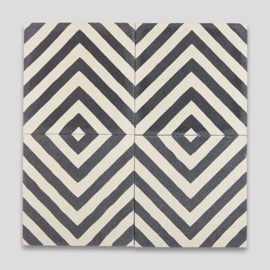 Zebra Encaustic Cement Tile