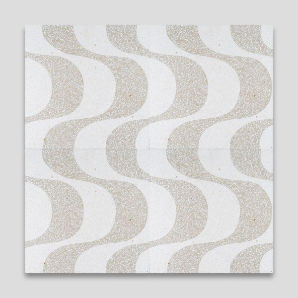 Roma Beige Artisan Terrazzo Tile