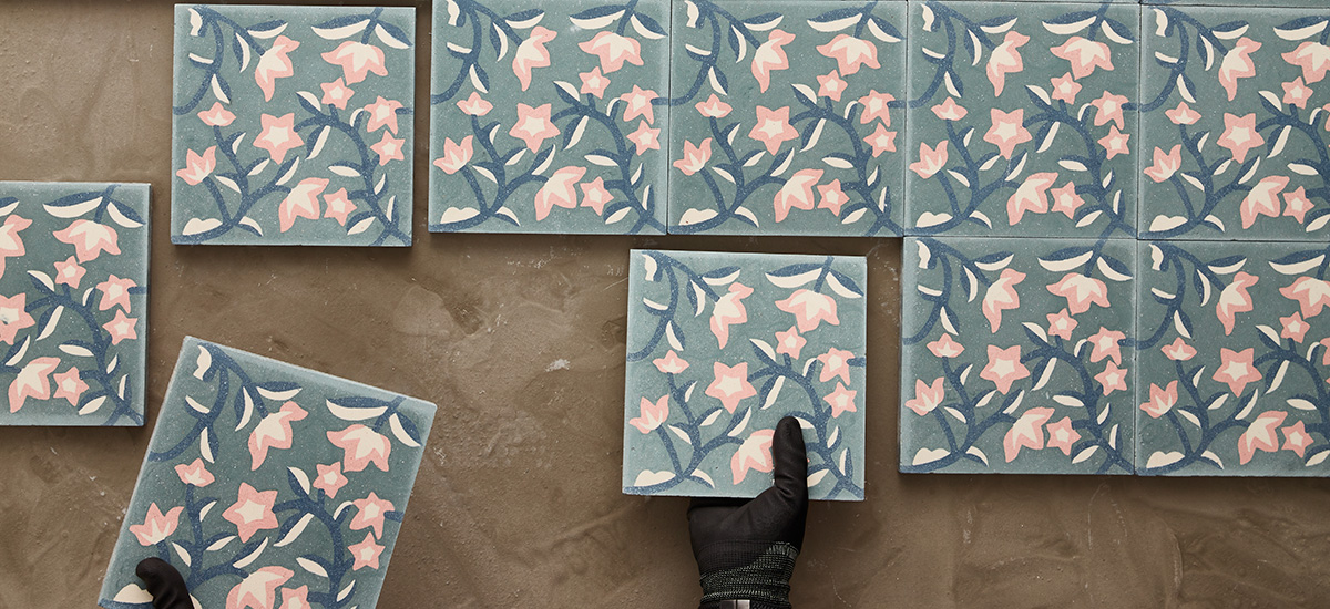 Encaustic cement tile installation tips