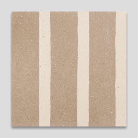 Earth Stripes Encaustic Cement Tile
