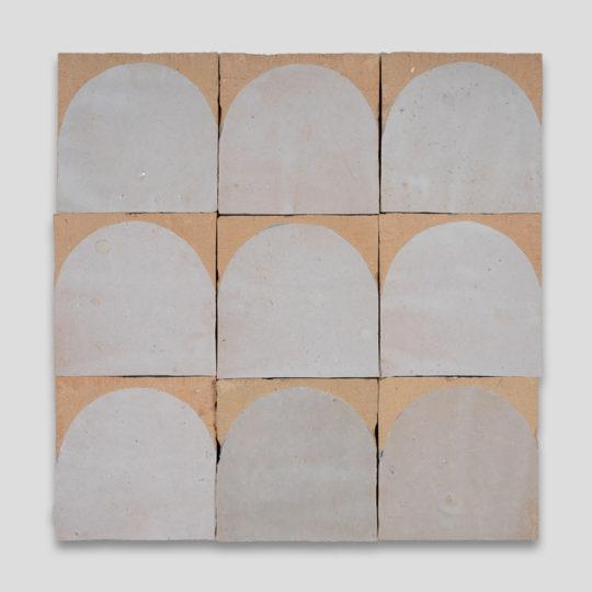White Arch Terracotta Zellige